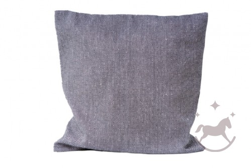 Linen Cushion Cover Black dream