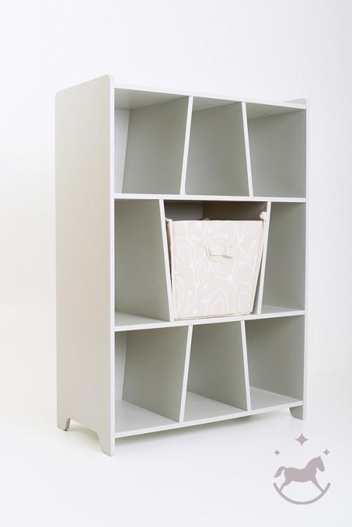 Bookshelf Bird & Berry+toy box included