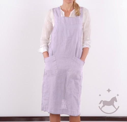 Japanese Washed Linen Apron