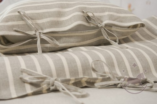 Linen Duvet Cover, ANNE
