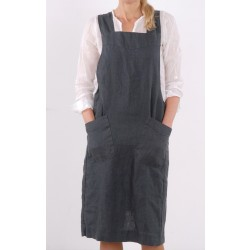 Japanese Washed Linen Apron