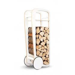 Fleimio Wood Trolley, white