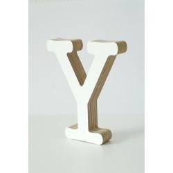 Wooden Letter Y