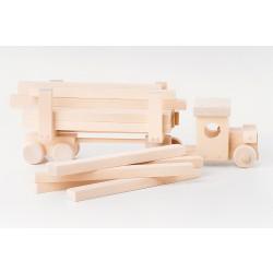 Wooden Handmade Timber Truck