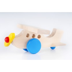 Handmade Wooden Airplane