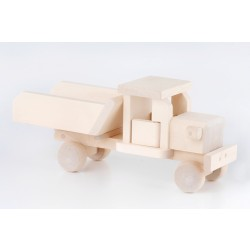 Handmade Wooden Tip-Up Lorry