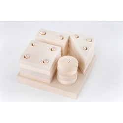 Handmade Wooden Shapes Puzzle