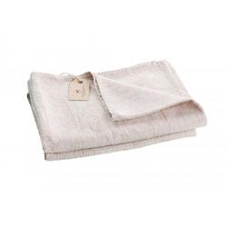 Linen Waffle Towel, grey